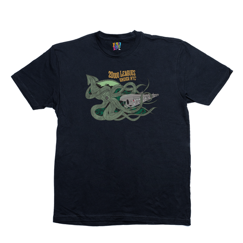 20000 Leagues under NYC black tee
