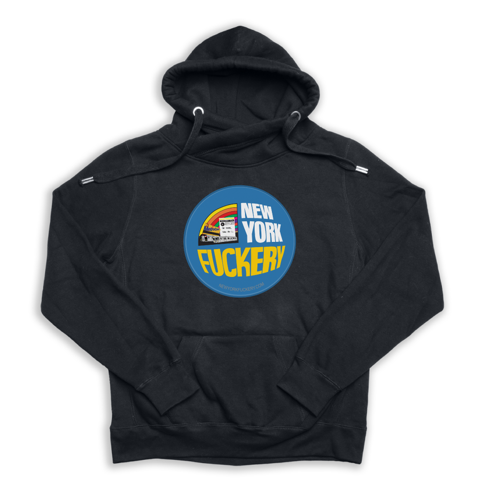 New York Fuckery black Euro Hoody