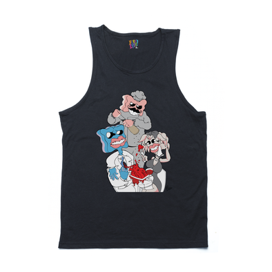 Gumbit x Wine black tank