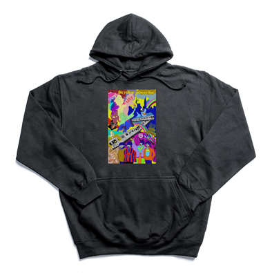 The Yellow Subway Line black hoody