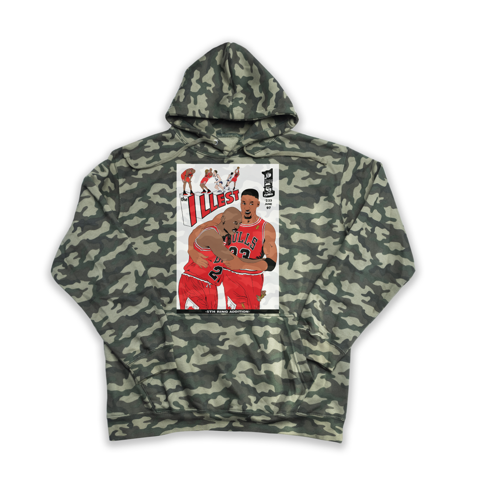 The Illest camouflage hoody
