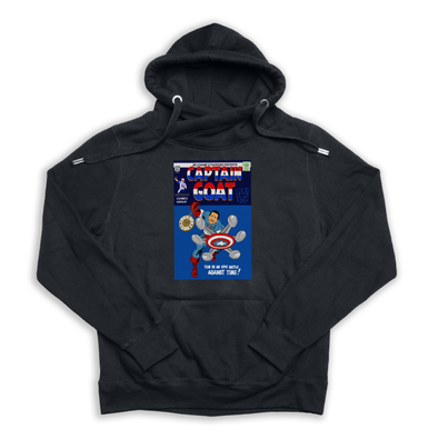 Captain GOAT black Euro Hoody