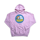 New York Fuckery pink hoody