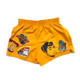 Gold Ladies' Athletic Shorts