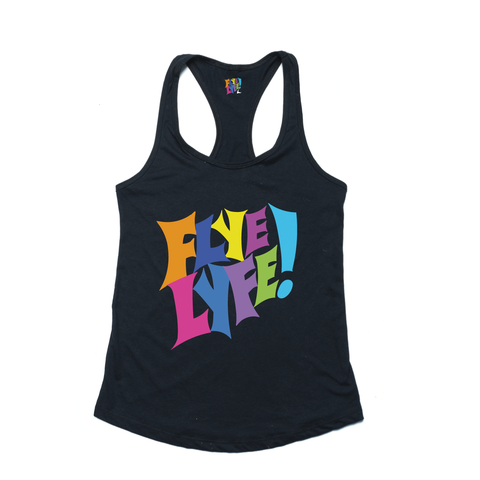 Flye Lyfe! black ladies tank
