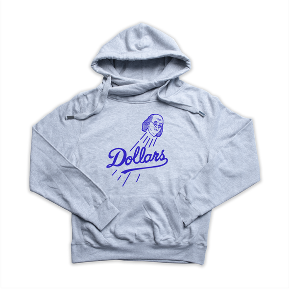 Dollars heather grey Euro Hoody