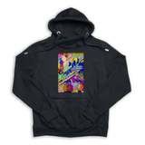 The Yellow Subway Line black Euro Hoody