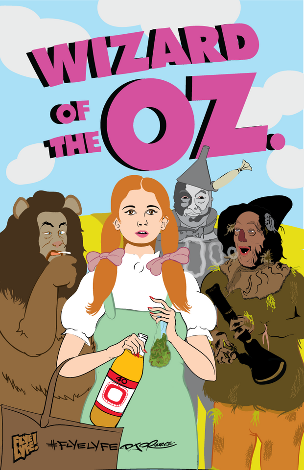 Wizard of the OZ. print