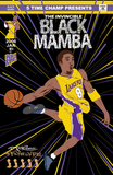 The Invincible Black Mamba print