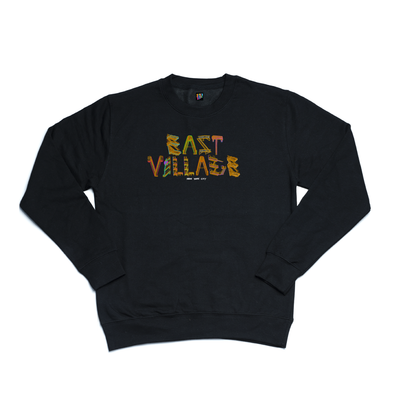 East Village black crewneck