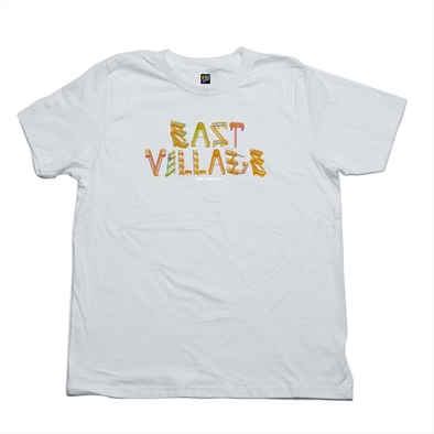 East Village white tee