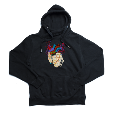 New York City Arteries 2.0 black Euro Hoody