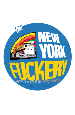 New York Fuckery print