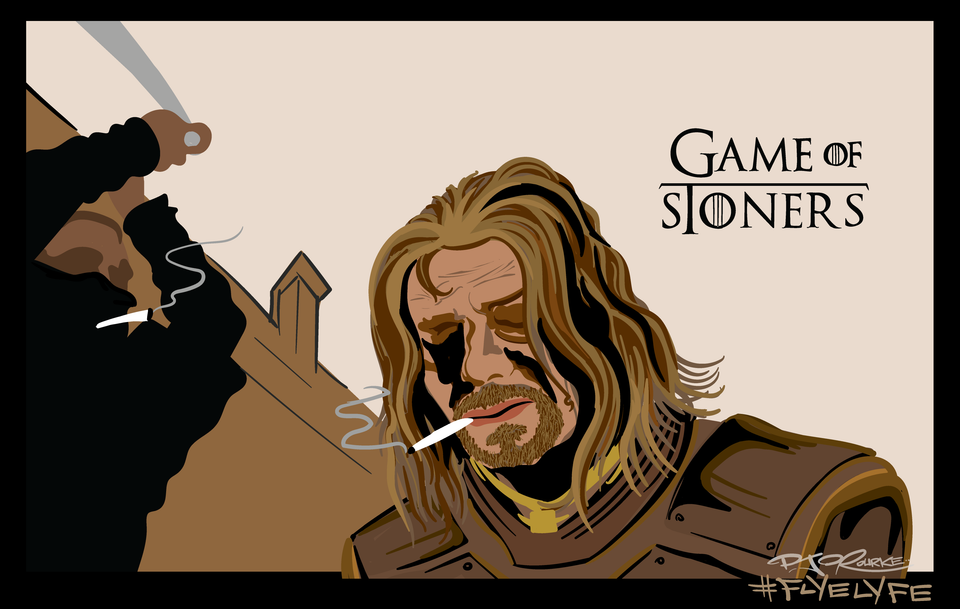 Game of Stoners print