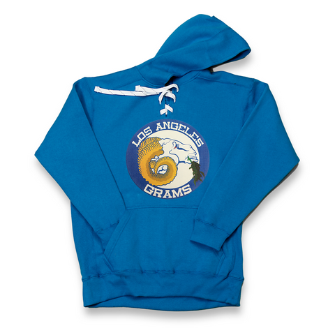 Los Angeles Grams royal lace hoody