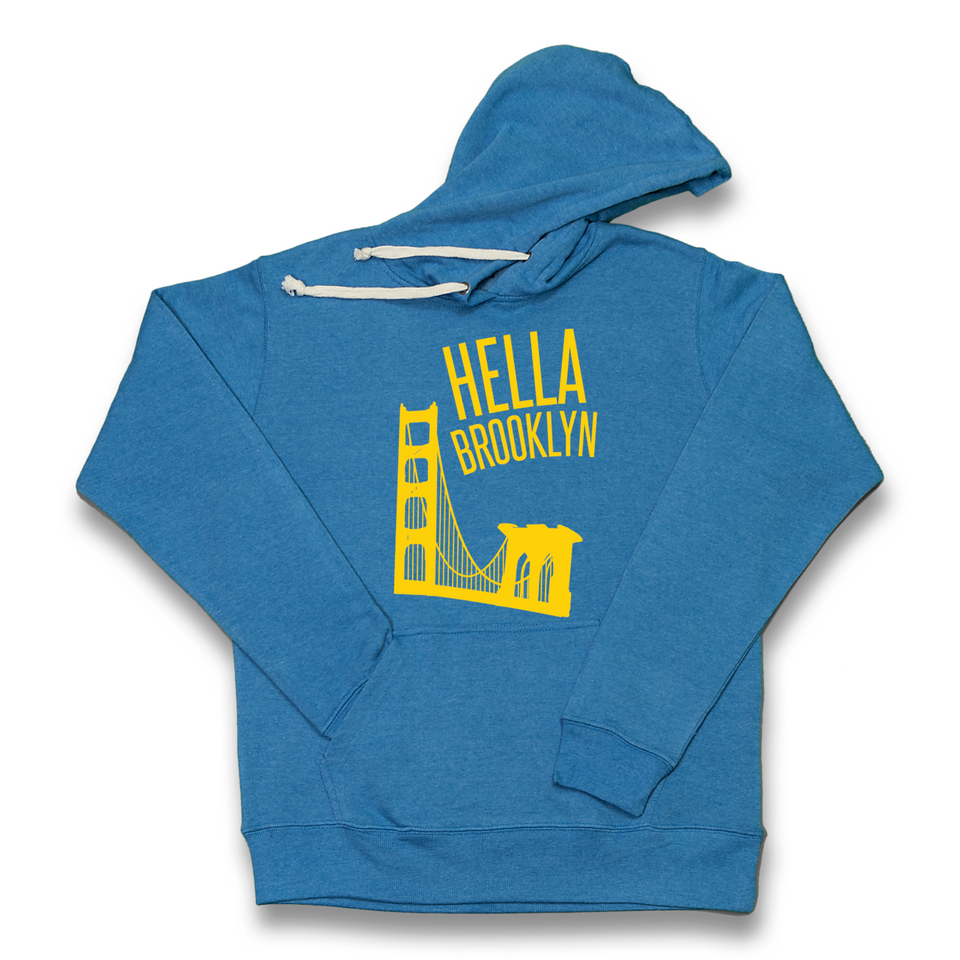 Hella Brooklyn royal hoody
