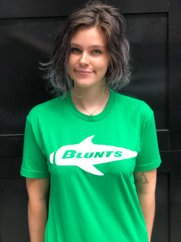 BLUNTS kelly green tee
