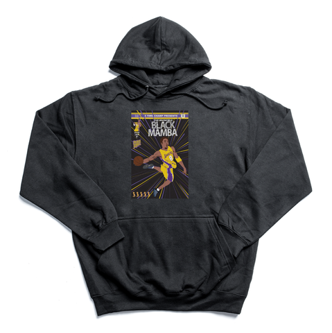 The Invincible Black Mamba black hoody