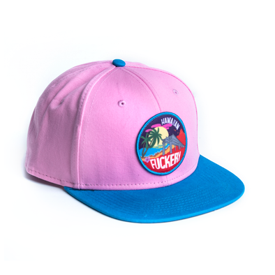 Hawaiian Fuckery pink cap