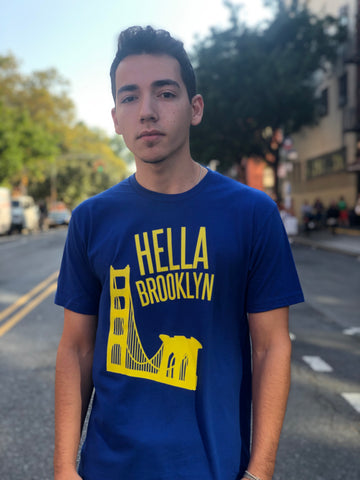 Hella Brooklyn royal tee
