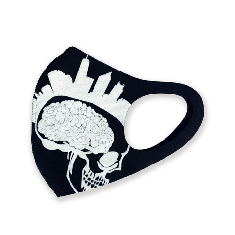 Empire State of Mind mask solid black (limited supply signed)