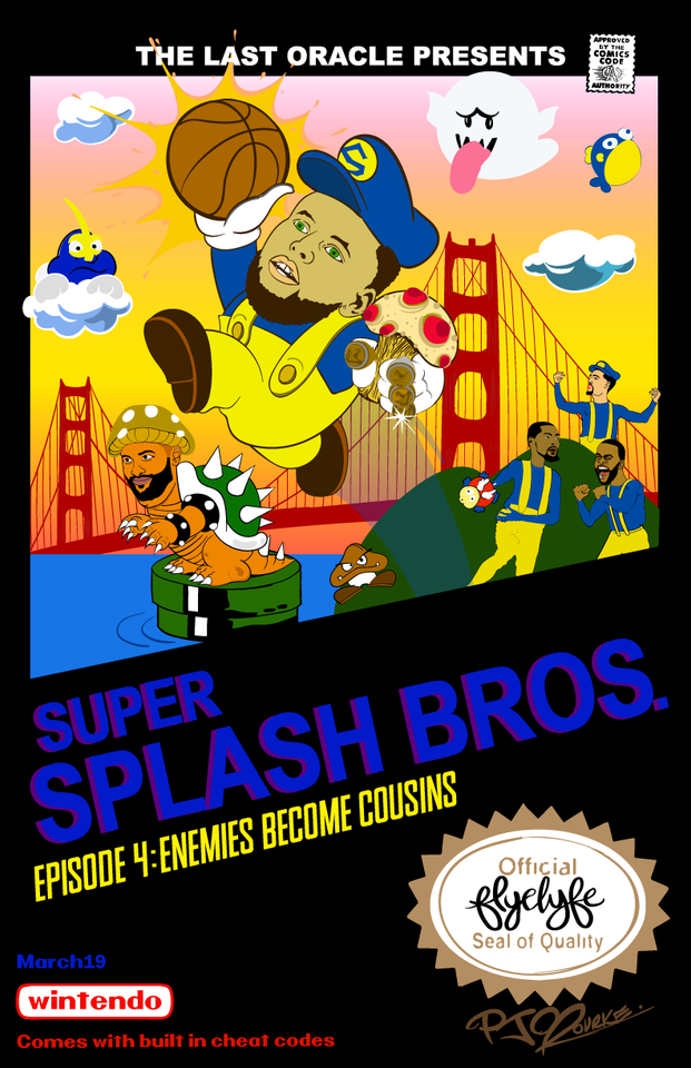 Super Splash Bros. 4 print