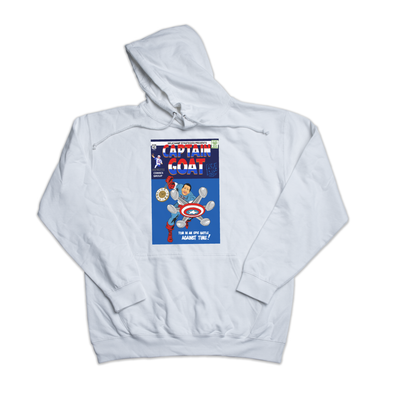 Captain GOAT white hoody
