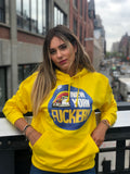 New York Fuckery yellow hoody