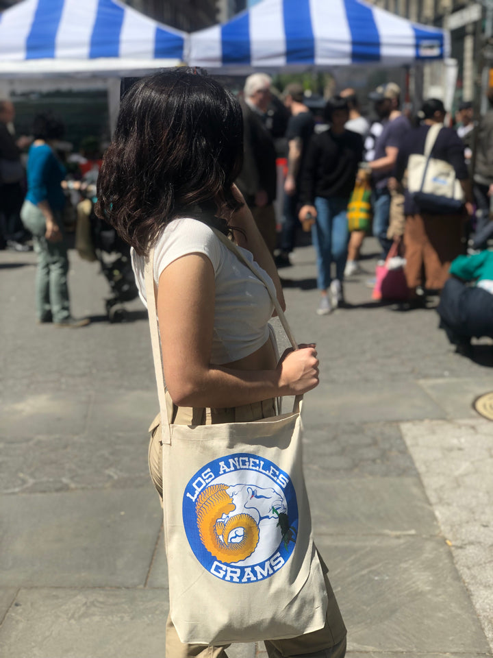 LA Grams natural tote (lagrams.com)