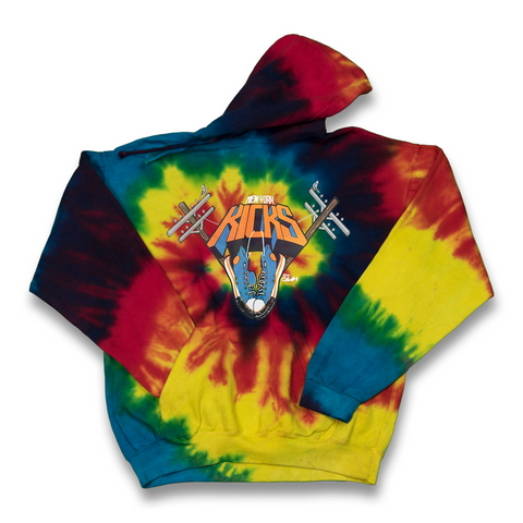 New York Kicks tie dye hoody