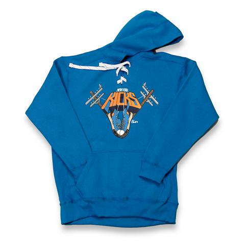 New York Kicks royal lace hoody