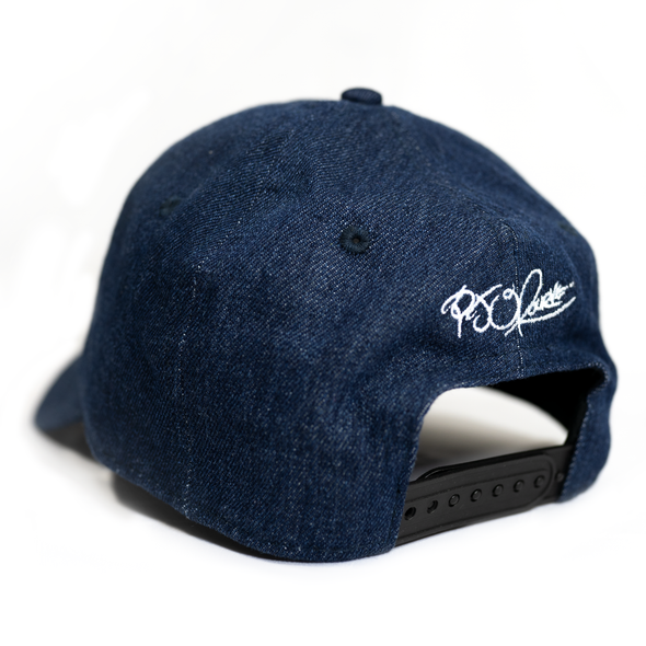 Flye Lyfe! light jean dad hat