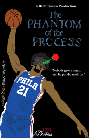 Phantom of The Process print