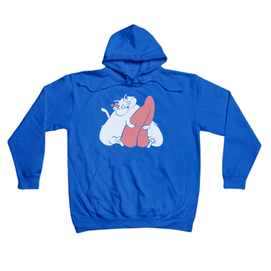 Cat's got your Tongue royal hoody