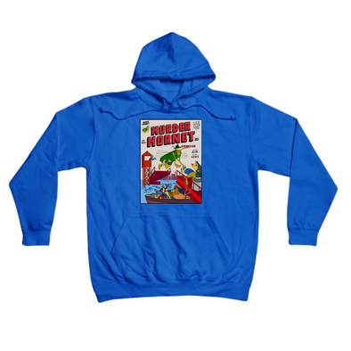 Murder Hornet Comics royal hoody