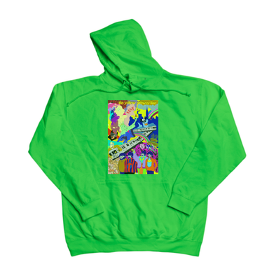 The Yellow Subway Line green hoody