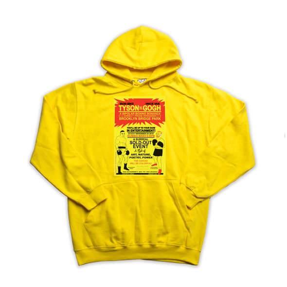 Tyson vs. van Gogh yellow hoody