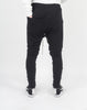 DROPCROTCH DRAWSTRING TROUSERS