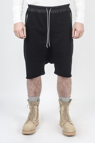 DROPCROTCH DRAWSTRING SHORTS