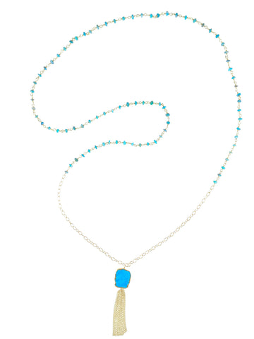 Lily Necklace - Turquoise