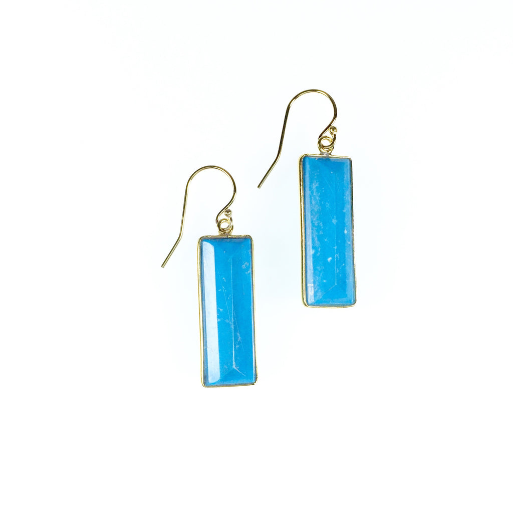 Vivienne Earrings - Turquoise
