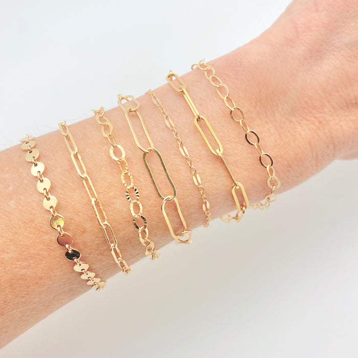 Chain Bracelet - Links (Medium)