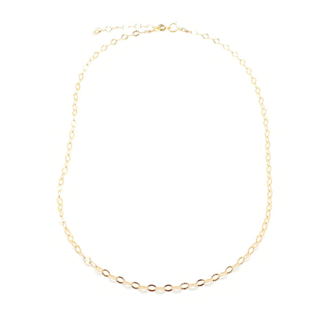 Chain Necklace - Sunburst