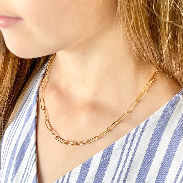 Chain Necklace - Links (Medium)