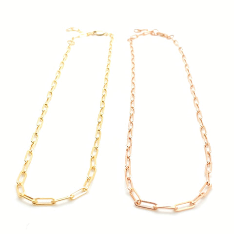 Chain Necklace - Links (Petite)