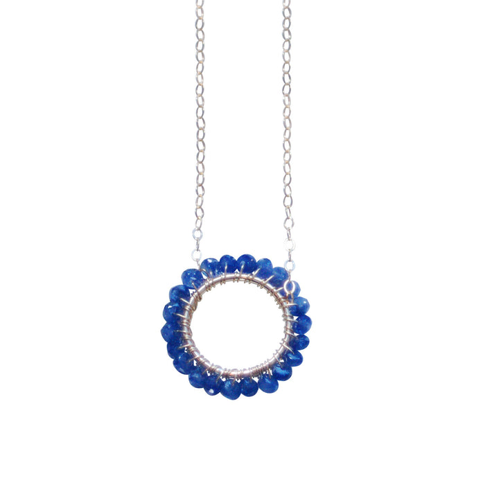 September Birthstone - Circle Necklace