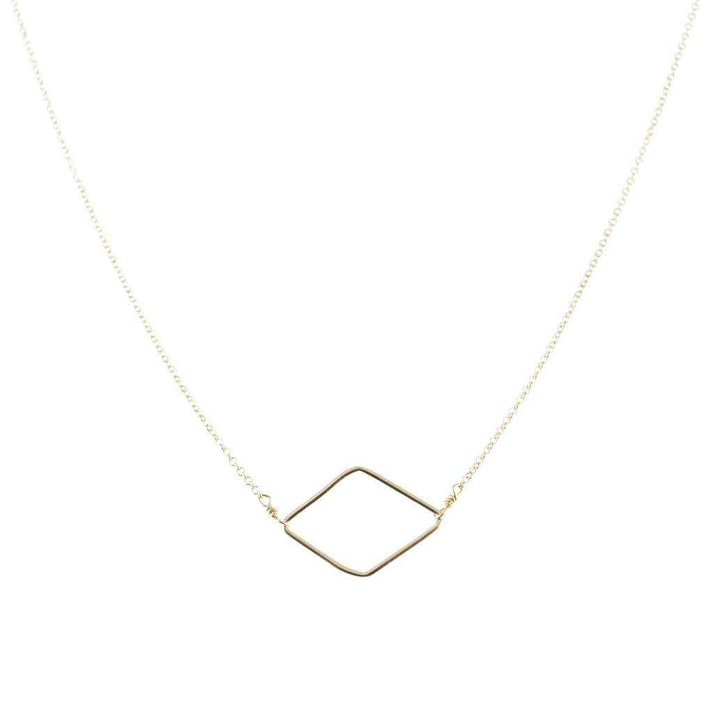 in pear carat necklace tcw square shape with and of gold diamonds product diamond karat white weight total