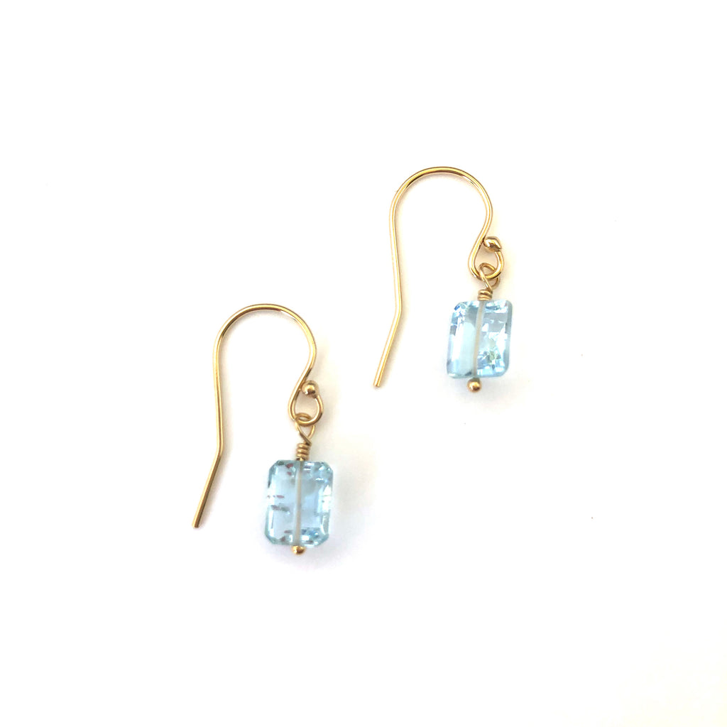 Laura Earrings - Aquamarine