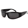 Manatee Polarized Fishing Sunglasses, Black Frame, Smoked Lenses