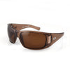Montana Sunglasses, Rootbeer Frame, Brown Polarized Lenses